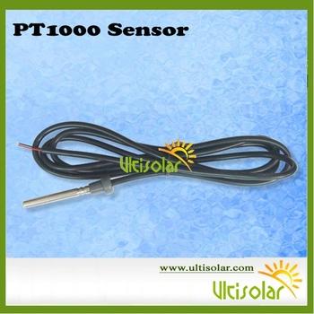 PT1000 High Temperature  Sensor Dia. 6mm*50mm 1.5m for Solar Hot Water Solar Collectors Temperature Controller
