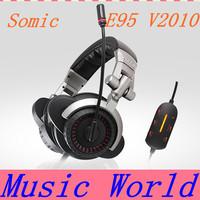 Wholesale Brand New Somic E-95 V2010 E95 5.1 USB Stereo Headphone with Mic,E95 V2010 Gaming Headset Earphone, Free shipping