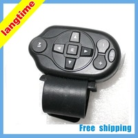 CR003-Free shipping--Universal Steering Wheel Remote Control for Car GPS/DVD/CD/MP5/