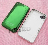 Green Plating Chrome Back Housing&Middle Metal Bezel Frame Assembly For iPhone 3G 3GS C1011