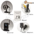 S-Free shipping 2.4G Digital Wireless Video Camera USB Receiver DVR Home Security CCTV System Kit LF-0609(China (Mainland))