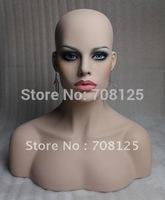 Realistic Wig Display Mannequin Head