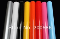 Glossy Vinyl Wrap with air channel Car Color changing film Free Shipping gv30m-012
