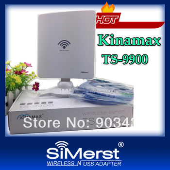 free DHL/UPS/Fedex shipping Kinamax TS9900 Ralink3070 5800mW 58dbi WiFi Lan Card High Power Wireless USB Adapter Wholesale price
