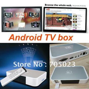 Amlogic(cortex A9) HDMI Android TV Box 2.3.4OS (DVB-01)