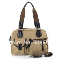 Free Shipping ! Casual Style Girls Canvas Handbag Shoulder Bags Hobos Handbag Purse Bag