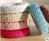 Wholesale 2.5M/Piec colors cloth Fabric tape lace cloth art adornment strip | bud silk diy tape | tape | stickers accessories