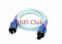 HIFI Club Onix Grand mater Silver plated US ac power cable with P037+C037 power cord plug IEC connector 1.5M