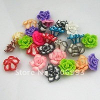 100pcs fashion DIY Jewelry beads 25mm Wholesale polymer clay beads Factory price free shipping