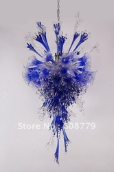 Free Shipping Blue Glass Lamp Shade Wholesaler&amp;Retailer(China (Mainland))