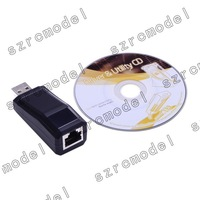 EU.MARK USB 10/100M RJ45 Ethernet Network Adapter Dongle (MosChip MCS7830)