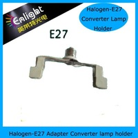 R7S to E27 adpater converter, lamp holder converter, with E27 lamp base, and R7S lamp holder 78mm 118mm optional
