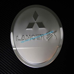 Stainless Steel Fuel Filler Door Cover / Oil Tank Cap Cover for Toyota RAV4, resonable express shipping cost. #4002(China (Mainland))