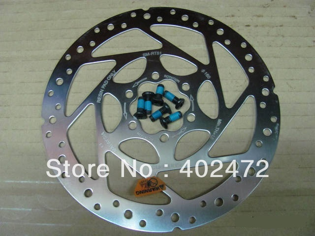 RT-51 RT51 tin hydraulic brake disc / disc plate / / tin dish 160MM brake rotors(China (Mainland))