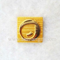 Free shipping,high quality gold lapel pins, 3D pin badge, custom gold badge