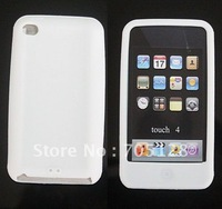 For Apple iPod Touch 4th Silicone Case, Free Shipping Silicone Case for iPod Touch 4