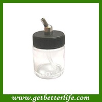 50pcs/lot Airbrush Glass Jars/bottles for Keeping Airbrush inks free shipping