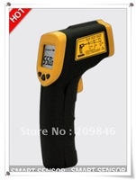 Free shipping smart sensor AR550 Non-Contact IR -32C to 550C Laser Infrared Digital Thermometer Infrared Thermometer gun,SS30208