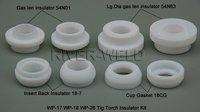 TIG KIT  Insulator Cup Gasket 54N01 54N63 18-7 18CG FIT TIG Welding Torch SR PTA DB WP-17 18 26 Series,8PK
