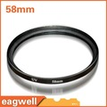New 58 mm Ultra-Violet UV lens Filter Protector for Nikon Canon Camera FREE SHIPPING