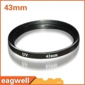 FREE SHIPPING New 43mm Ultra-Violet UV lens Filter Protector for Nikon Canon Sony Camera