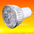 20pcs GU10 8W LED spotlights_650lm 100%cree chip 99& saving energy LED bulb,led lamp by DHL