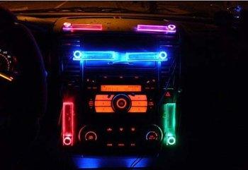 Free shipping,Car Charge Glow Interior Decorative Blue Light wholesale,car led light