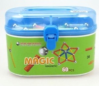 Wholesale - toys 60pcs a pack Geomag &amp;amp; Magnetic building &amp;amp;Geomag Kids Panels&amp;amp; Magnetic stick toy Magic plus 5set/lot &amp;amp;BY EMS