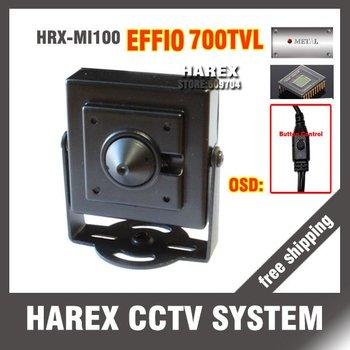Special offer effio 700tvl pinhole hidden cctv camera free shipping