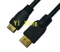 3.3ft mini hdmi cable for tablet PC,  1.3v 1080P FULL HD,20pcs/lot