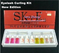 Free Shipping Good quality Eyelash Curling Perming Curler PERM Kit aid Full set /Eyelash Wave Whole sale
