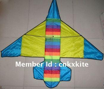 rainbow airplane kite