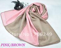 FREE SHIPPING,patchwork scarf,ladies shawl,muslim hijab,50% silk+50% cotton,2012 new design,50*180cm