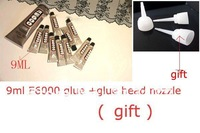 Promotion!! 50pcs 9ML  E6000 Glue+50pcs Glue Head Nozzle