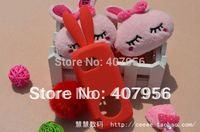 Free shipping! For Nokia 5800 5802 5805 5800W Rabbit silicone cartoon case 1pcs min order