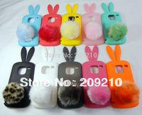 Free shipping!For Nokia E5 E5-00 case Rabbit soft silicone Case cartoon case  with high quality 1pcs/lot