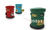 Free Shipping!New USB Magic Post Box Shape Webmail Notifer Lowest price,3pcs/lot!