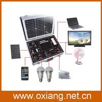 Promotion 500W Solar Lighting System for lighting, Fan,TV etc/portable solar home system
