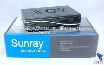 DHL Free Shipping Satellite ReceiverSunray 4 | 800Se SR4 ,Sunray 800 HD Se Sr4 |sunray4 | dm800 hd se wifi 300mbps WLAN