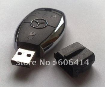 genuine capacity 2GB/4GB/8GB/16GB/32GB usb flash drive pen drive memory stick car key shape drop shipping FREE SHIPPING