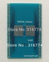 2pcs TSOP48 TO DIP 48 0.5mm TSOP PCB Adapter Socket