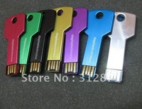 1GB-32GB, Key Shape USB Flash Stick, Memory Disk, 30PCS/ lot, Logo Printing, Assorted Colors, Free Shipping!