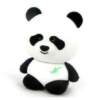 Wholesale Genuine Cute 3D Panda 4GB/8GB/16GB/32GB USB 2.0 Flash Drive Memory Stick Pen,Free Shopping