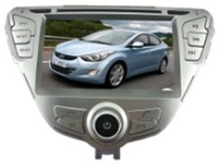 7 inch 2-DIN touch screen TFT LCD display CAR DVD PLAYER WITH GPS FOR HYUNDAI ELANTRA / AVANTE / I35