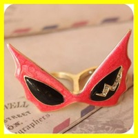 Ring Batman Ring Double Finger Ring Fashion Jewelry Free Shipping 12 pcs/lot LTWL-0080