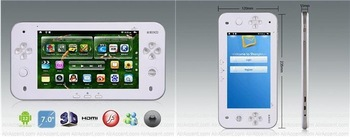 JXD S7100 7 TFT Capacitive Touch Screen Android 2.2 Table PC PSP Game Console with Wi-Fi, HDMI and Flash 10.3
