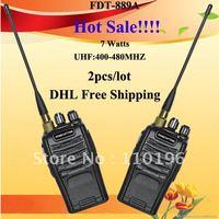 Midland Radio (FDT-889A) 2012 Hot Cheap DHL Free Shipping 2pcs/lot UHF400-480MHZ