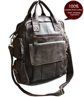 FREE SHIPPING-On Sale New 2014 Fashion women backpack  Genuine Leather Backpack Tote Bag Women School Backpack