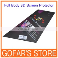 Newest 3D Diamond Full Body Screen Protector for iPhone 4S 4G with Retail Package,100pcs/Lot,High Quality,Free Shipping