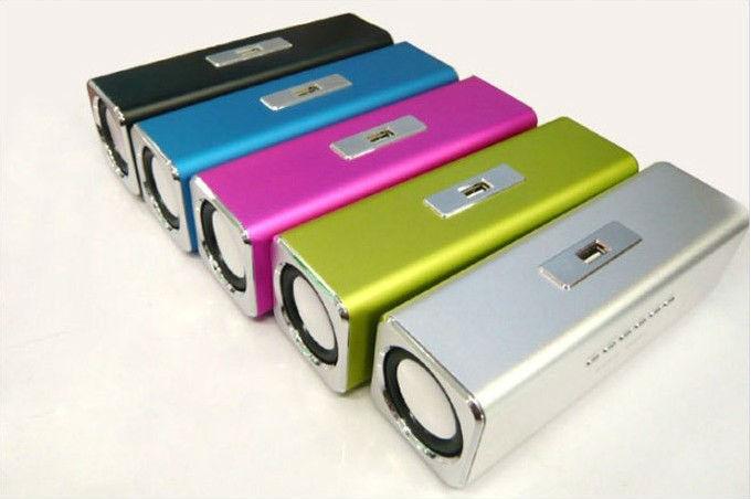 100% original music angel speaker 4pcs/ lot Free Shipping Portable outdoor speaker insert USB/TF + FM,COOL quality!(China (Mainland))